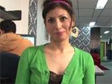 Maria Robles, latina debutando en la cam porno