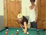 Se juega al billar una follada