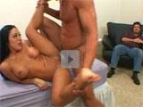 Cornudo adicto al porno en directo