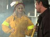 Pues sí, tambien hay mujeres bombero