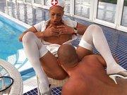 Enfermera porno a domicilio