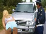 Sexo durante un control policial